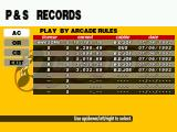 Crazy Taxi Windows Records area