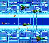 Air Buster Genesis Second part of the phase, with fast scrolling