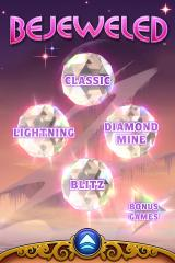 Bejeweled 3 iPhone Version 1.3 includes lightning mode and redesigns main menu again.