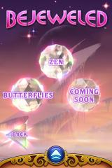 Bejeweled 3 iPhone The second part of the main menu as of version 1.3