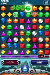 Bejeweled 3 iPhone However the game time can be extended when capturing time gems.