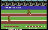 The Activision Decathlon Commodore 64 The different race events all look like this