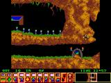 Lemmings SAM Coupé The first level