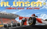 Al Unser, Jr. Arcade Racing Windows 3.x Title Screen
