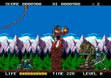 Rastan Saga II Genesis Kill the giant lizard