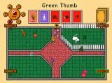 Green Thumb Cards Windows AI placing a flower