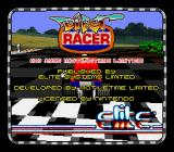 Dirt Racer SNES Title screen