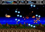 Gaiares Genesis Good action. Enemies had no chance