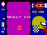 Speedway! / Spin-Out! / Crypto-Logic! Videopac+ G7400 <i>Race</i> skill selection.