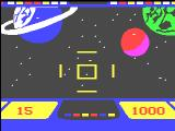 Cosmic Conflict! Videopac+ G7400 Game start: The background graphics are exclusive for the Videopac+.