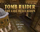 Tomb Raider: The Last Revelation Windows Title screen and main menu