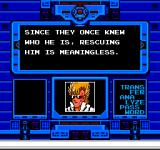 Strider NES Hiryu is given his mission to find Kain