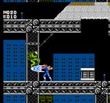 Strider NES Slashing through a low level enemy