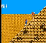 Strider NES Up the side of a pyramid in Egypt