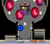 Ginga Fukei Densetsu: Sapphire TurboGrafx CD Try to avoid those red guys and slip into the castle door when it's open