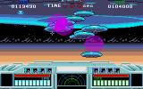 Space Gun Amiga That UFO seems to be ejecting mini-UFOs