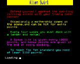 Alien Swirl BBC Micro Instructions