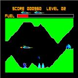 Deathstrike Sinclair QL Later levels don't make flying that easy