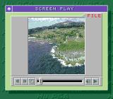 Power Golf 2: Golfer TurboGrafx CD The game begins with a... live video!