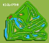 Power Golf 2: Golfer TurboGrafx CD View of the course