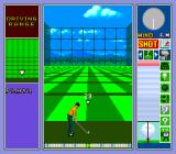 Power Golf 2: Golfer TurboGrafx CD Driving range