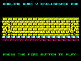 Wrestling Superstars ZX Spectrum Pre-match build up.