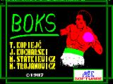 Boks ZX Spectrum Loading screen