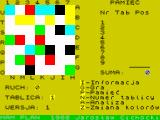 Mam Plan ZX Spectrum Main menu