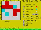 Magiczne Krzyże ZX Spectrum A game in progress