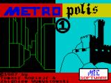 Metropolis 1 ZX Spectrum Loading screen