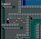 Fester's Quest NES One of the weapon power-ups shoots 'snakes' of bullets