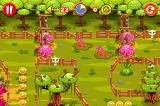 Rolling Ranch iPhone More obstacles: Worms and radioactive geysers