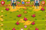 Rolling Ranch iPhone Windmills, tentacles(work as pinball bumpers) and other obstacles