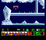 Lemmings TurboGrafx CD Beautiful crystal level. Some mining might be helpful