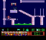 Lemmings TurboGrafx CD It's hard to figure out how not to fall into acid
