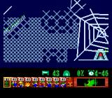 Lemmings TurboGrafx CD In this cool level you climb through spider web!