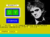 Papa Dance ZX Spectrum Good answer. The counter increases by one point