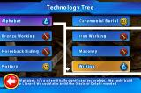 Sid Meier's Civilization: Revolution iPhone Technology tree is present. What to research next?