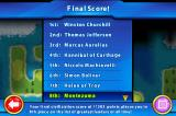 Sid Meier's Civilization: Revolution iPhone Final Score