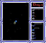 DAIVA Story 6: Nirsartia no Gyokuza NES Before beginning a battle with an enemy's fleet, the player can see how many units each side will have