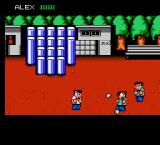 River City Ransom NES Good throw!