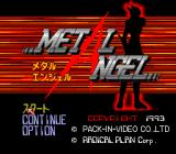 Metal Angel TurboGrafx CD Title screen