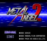 Metal Angel 2 TurboGrafx CD Title screen