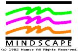 Xevious Apple II Mindscape logo