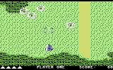 Xevious Commodore 64 Beginning a game