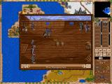 iHeroes iPad Battling another hero on a ship