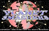 Planet Smashers Atari 7800 Title screen