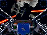 Star Wars: X-Wing Vs. TIE Fighter - Balance of Power Campaigns Windows Providing cover in the X-Wing.