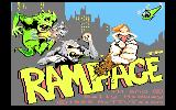 Rampage Atari 7800 Title screen