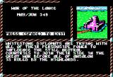 War of the Lance Apple II Intro screen
